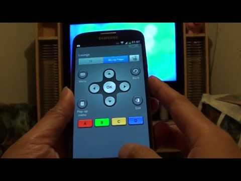 Samsung Galaxy S4: Setup your Phone as a Remote Control for Blu-Ray DVD Player