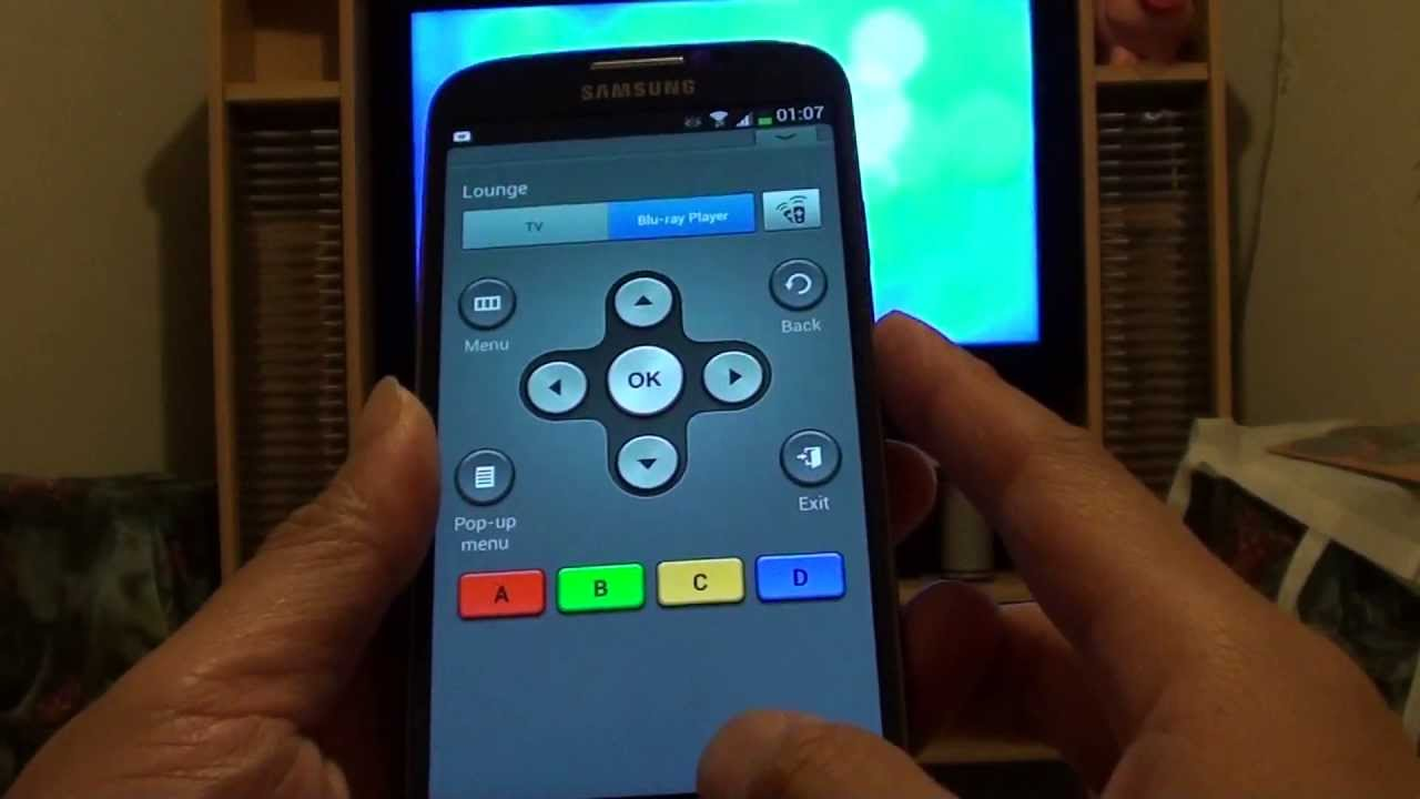 Samsung Galaxy S4: Setup your Phone as a Remote Control for Blu-Ray ...