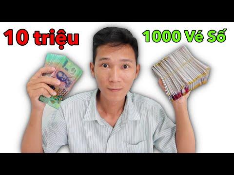 Tui Đã Dùng 10 Triệu Để Mua 1000 Tờ Vé Số