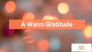 A Warm Gratitude Message From Parents and Students