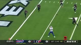 John Brown Passing Touchdown to Josh Allen | Buffalo Bills vs Houston Texans AFC Wildcard Game