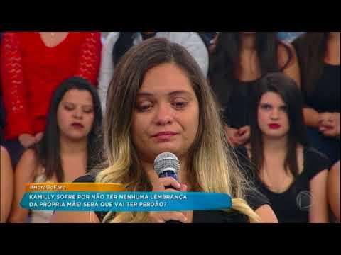 Mãe abandona filha e quer pedir perdão no Hora do Faro