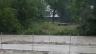 Chochołów (23.07.2008) - skutki długotrwałej ulewy 3