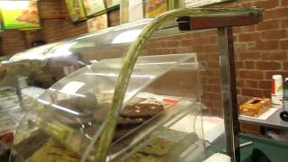 Mouse in subway restaurant