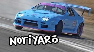 "Streetdrift-style ""sanpatsu"" competition at Nikko Circuit"