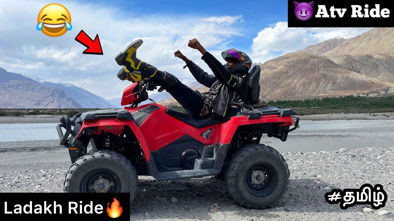 😂Parakurom | Episode - 24 |😈Atv ride in ladakh💥| Tamil | motovlog | adventure | TTF | Twin |