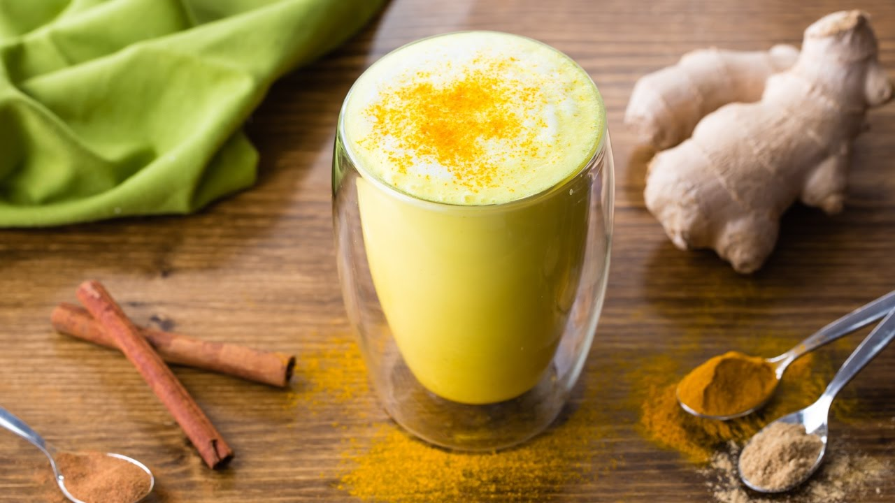 Golden Milk Turmeric Latte To Fight Inflammation Youtube