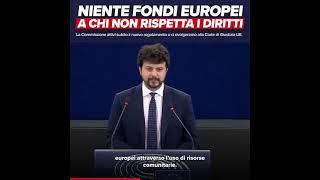 Intervento di Brando Benifei, capo delegazione pd, durante la Plenaria di Strasburgo sulla Situazione dello Stato di diritto nell'Unione europea.