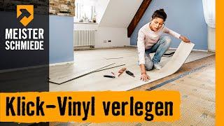 Klick-Vinyl verlegen | HORNBACH Meisterschmiede