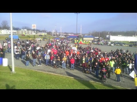 Massena People Over Profit  Rally FULL FOOTAGE