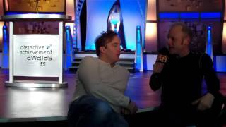 13th Annual Interactive Achievement Awards: Adam Sessler Interviews Jay Mohr