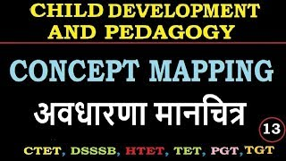 Child development and pedagogy - concept mapping