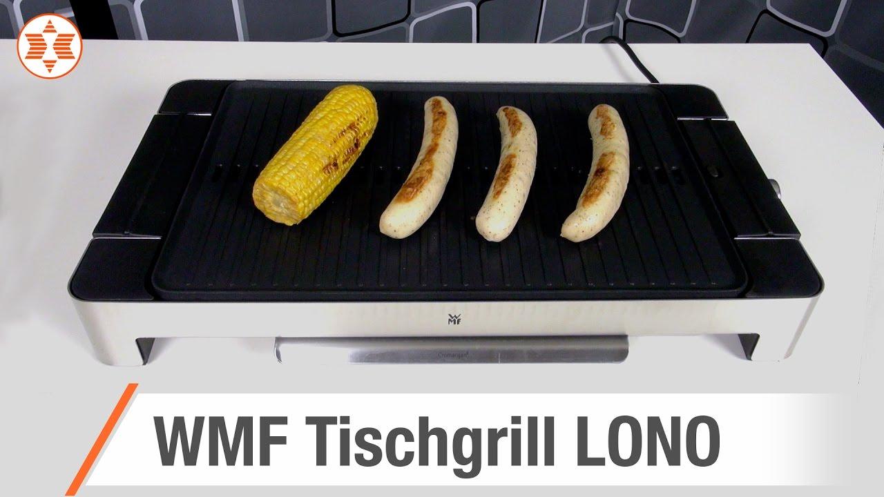 Wmf Elektrogrill Lono Family Test : Wmf tischgrill lono jubiläums angebot der woche youtube