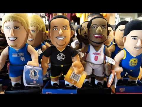 NBA Store Philippines Trinoma Store Walk-through