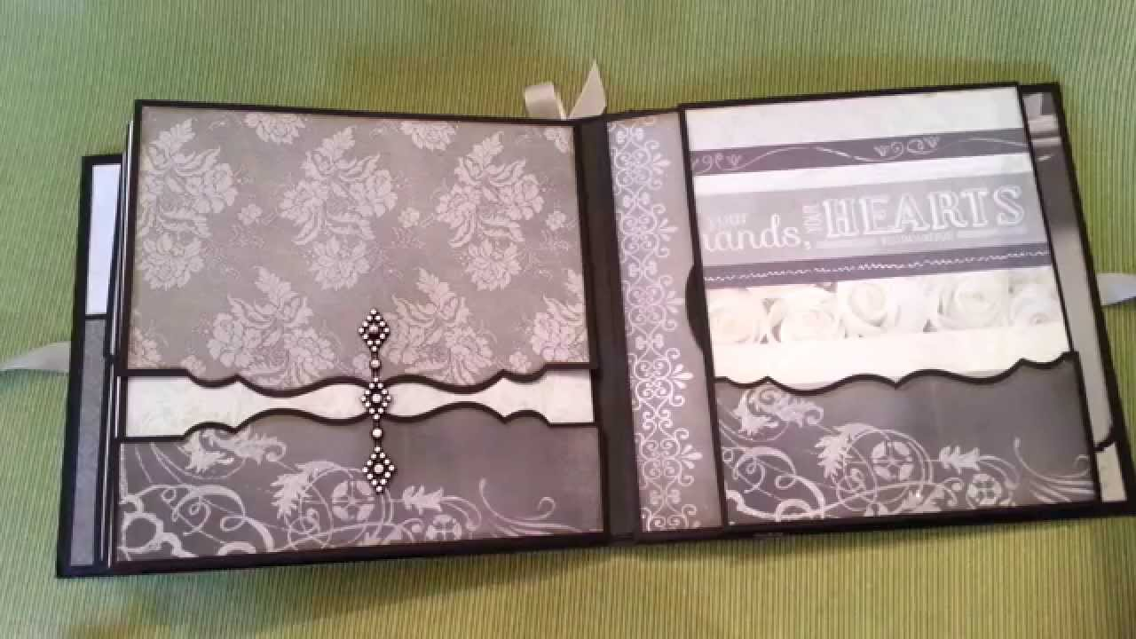wedding mini album to have and to hold youtube