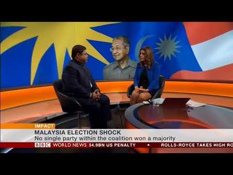 Vijay Eswaran Comments on Malaysia's Historic Elections on BBC World News