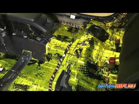 Полная шумоизоляция и замена аудиосистемы в Volvo S90