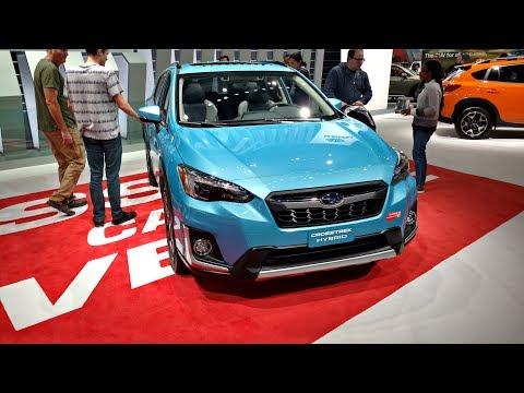 Subaru Crosstrek Hybrid - POV Walkaround Exterior & Interior -  LA Auto SHow