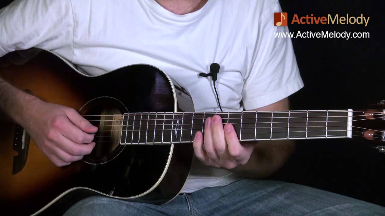 Blues Guitar Lesson On Acoustic Guitar Big Band Swing Style