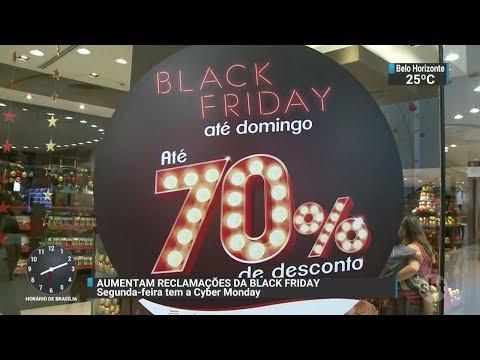 Black Friday teve 17% mais reclamações do que no ano passado | SBT Brasil (25/11/17)