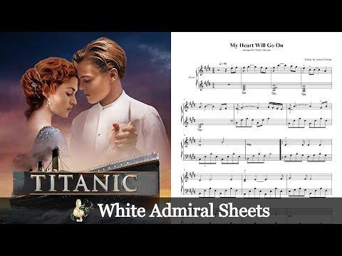 Titanic - My Heart Will Go On - James Horner - Easy Piano