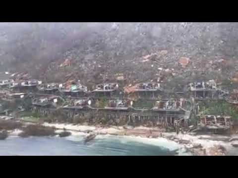 Bitter End Drone Footage Virgin Gorda BVI Hurricane