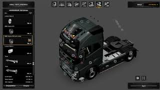 Vehicle;   http://sharemods.com/wjydm660901j/New_Volvo_FH.7z.html  Addons:  http://sharemods.com/hk42skkv2nb8/addons.7z.html
