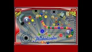 Pinboliada Пинболиада Зума Сага о Пинболе цветные шарики игра