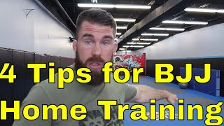 How to Train BJJ from Home When There are No Gyms Nearby
