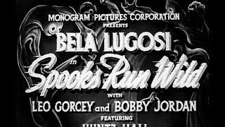 Comedy Horror Movie - Spooks Run Wild (1941) - Bela Lugosi