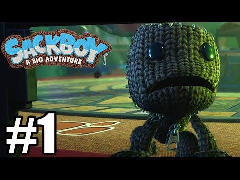 Sackboy: A Big Adventure Gameplay Walkthrough Part 1
