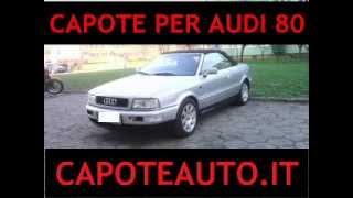 Capote cappotta Audi 80 cabrio