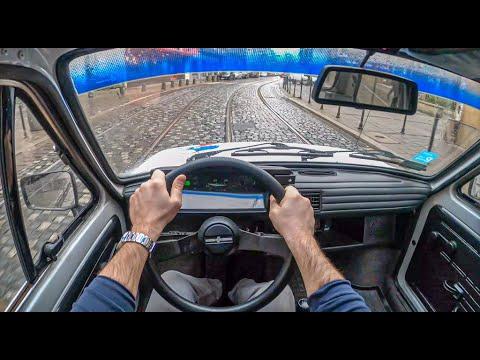 Fiat 126p | 4K POV Test Drive #363 Joe Black