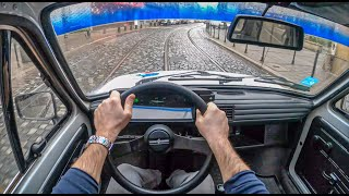 Fiat 126p | 4K POV Test Drive #363 Joe Black