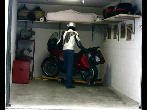 chariot de d placement moto goldwing doovi. Black Bedroom Furniture Sets. Home Design Ideas