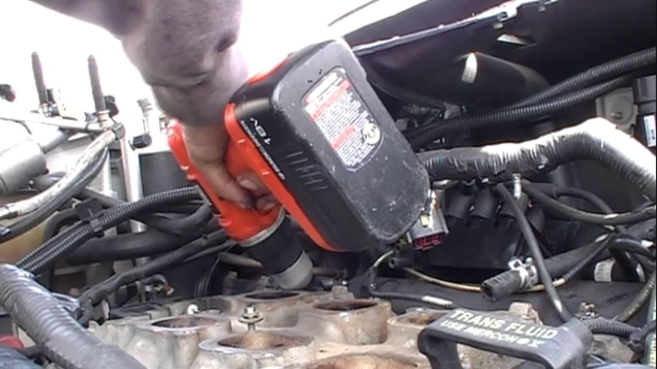 Windstar Lower Intake Gasket Youtube Head Diagram Further Chevy 3 1 Engine Manifold