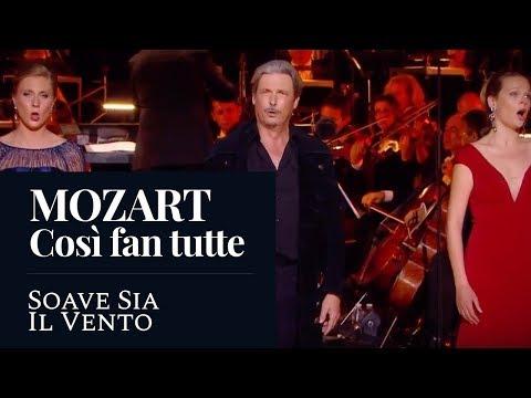 """MOZART - Così fan tutte,""""Soave Sia Il Vento"""" (Malta-Bey/Lemercier/Cavallier) [MUSIQUES EN FÊTE 2017]"""