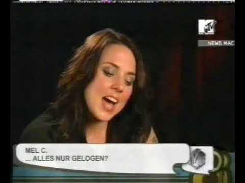 Melanie C - MTV DE NEWS - About Robbie Williams