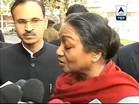 Meira Kumar says, strict law is needed.