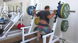 Мой личный рекорд Приседание со штангой 150 кг.