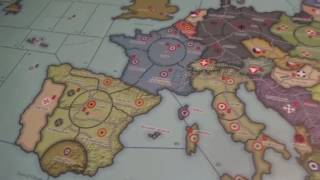 Global War 1936 - Overview of Alliances, Objectives, Rail Movement, and Convoys