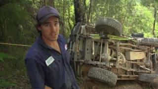 4WD Action Rollover! Part 2 - The recovery