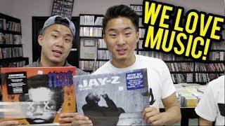 WE LOVE MUSIC! CRATE DIGGIN