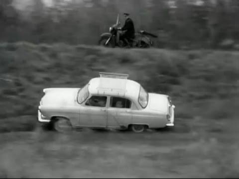 Verfolgungsjagt Wolga GAZ M 21 aus Film UdSSR 1966