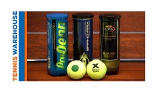 Tennis Balls Explained - TW Gear Up