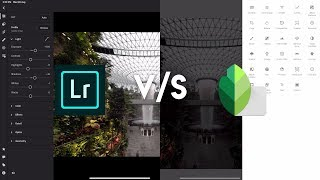 Snapseed vs Lightroom | What should you use?
