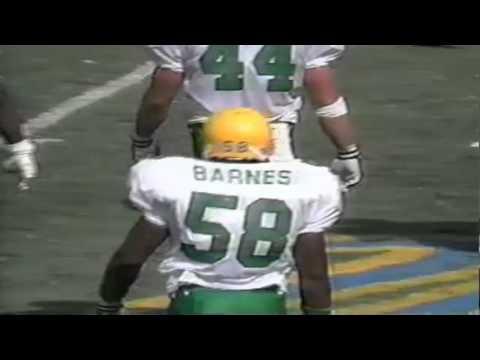 Oregon LB Derrick Barnes sacks UCLA QB Cade McNown 9-16-1995