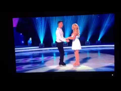 Dancing on Ice 2013 Pamela Anderson boob fall out live on UK TV thumbnail