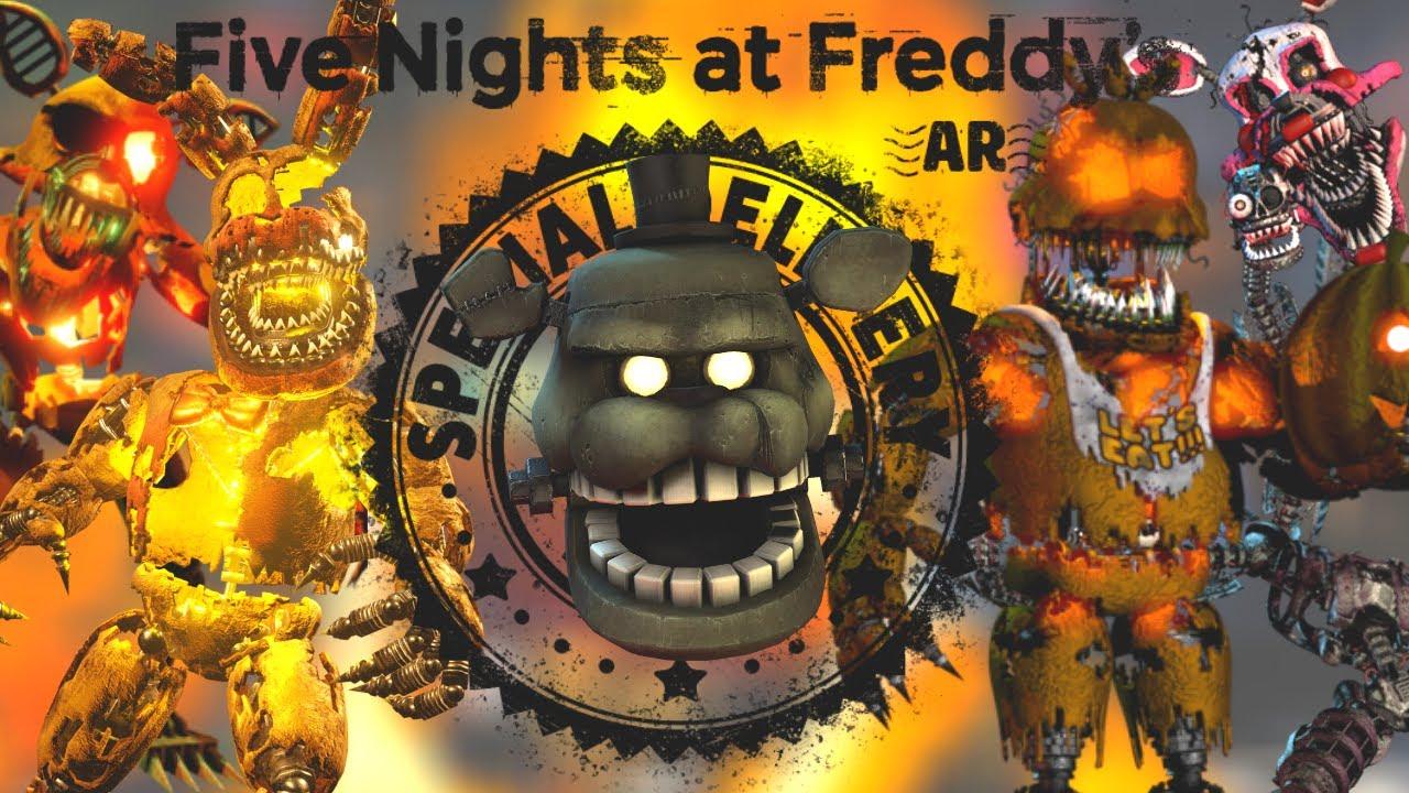 Download HALLOWEEN FNAF ANIMATRONICS CONFIRMED!!??!????!    FNAF AR: Special Delivery