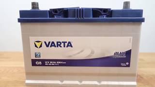 Аккумулятор VARTA Blue Dynamic G8: обзор аккумулятора